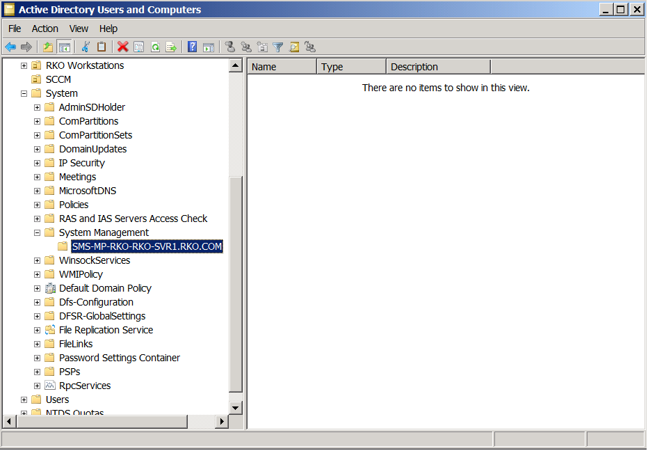 Installed a replacement SCCM environment to replace our old SCCM